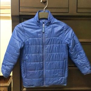 "GAP Boys (S 6-7) lightweight ""puffer"" down jacket"